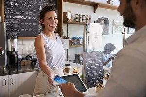 small business cash register