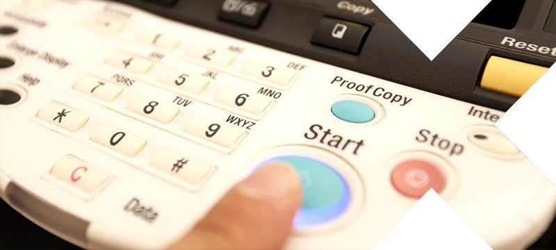 Renting a photocopier