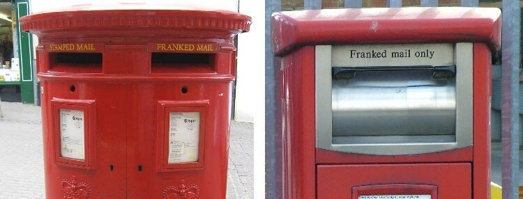 franking post boxes