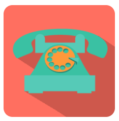 traditional phone system icon