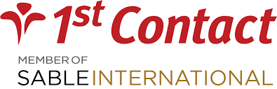 1st contact logo