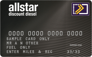 allstar premier programme diesel fuel card