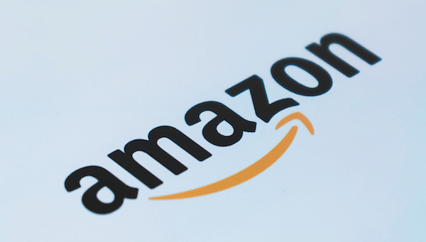 Amazon logo for CRM case study