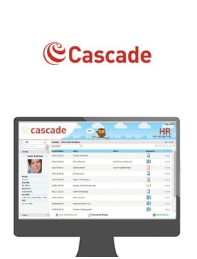 Cascade logo and interface