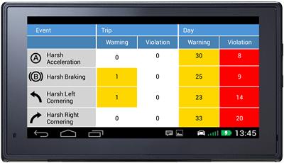 Teletrac Navman tracking interface