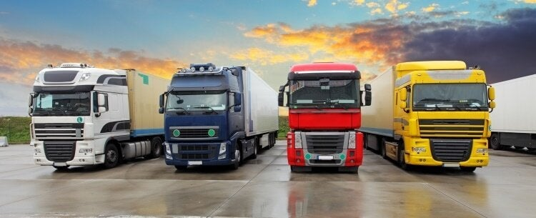 HGV fleet vehicle tracking