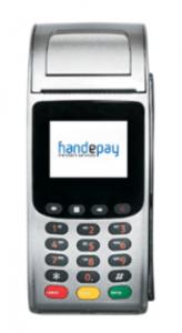 handepay countertop card machine