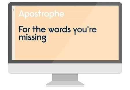 Apostrophe website