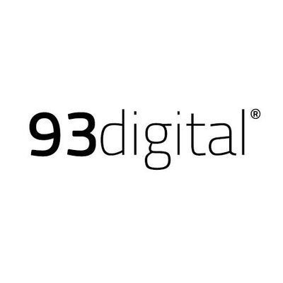 93 digital logo