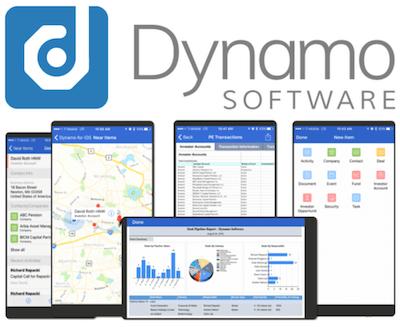 Dynamo logo and interface