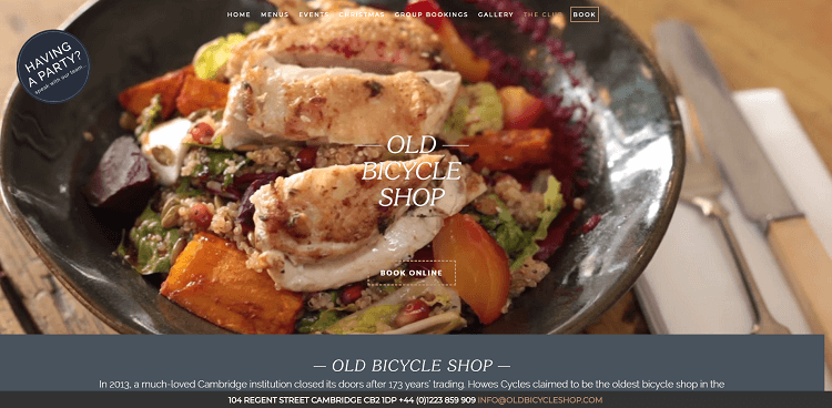 The Old Bicycle Shop screenshot