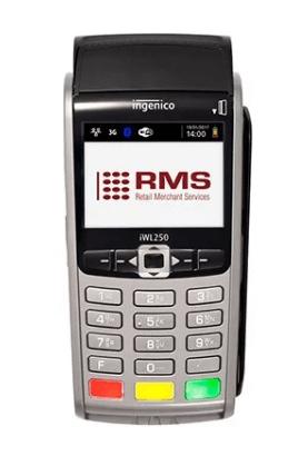 RMS portable card machine