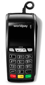 worldpay countertop card machine