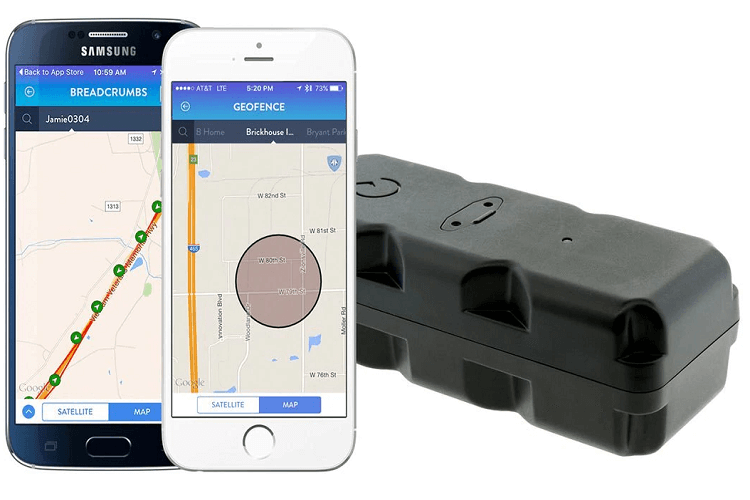 Smartphones With GPS Asset Tracking