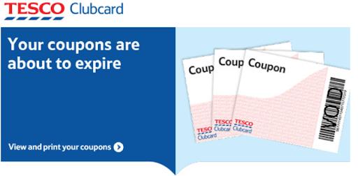 Tesco clubcard expiration email