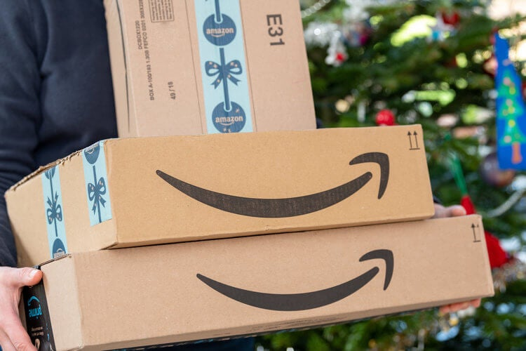 Amazon deliveries on Christmas