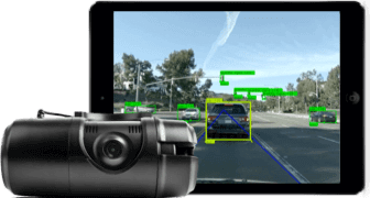 Verizon Connect dash cam with software