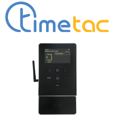 TimeTac logo and clocking-in system