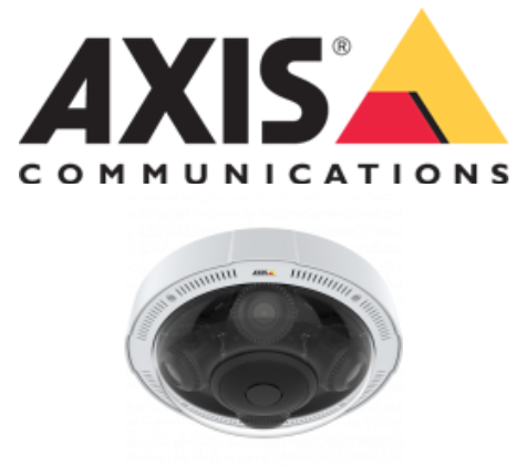 Axis logo and P3719-PLE Network Camera