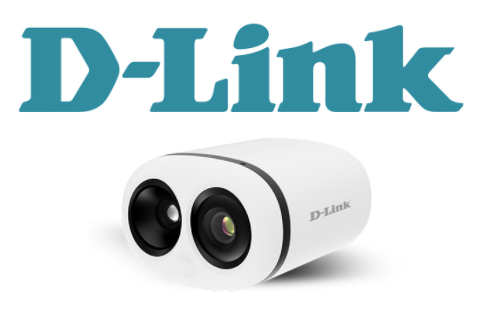D-Link logo and DCS 9500T