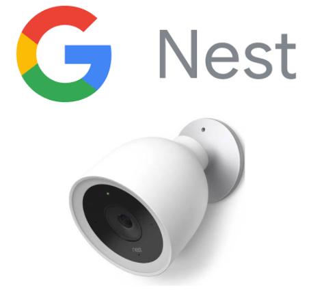 Google Nest logo and IQ Outdoor