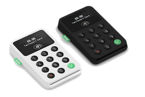Zettle Card Readers in Black and White