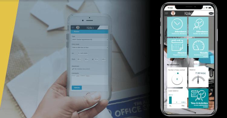 Bodet mobile app