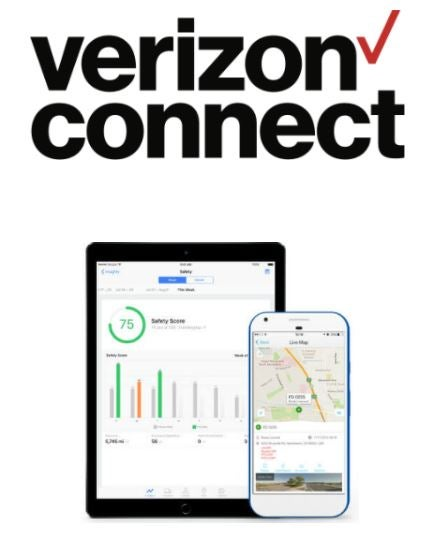 Verizon Connect logo and software