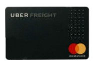 uber freight card