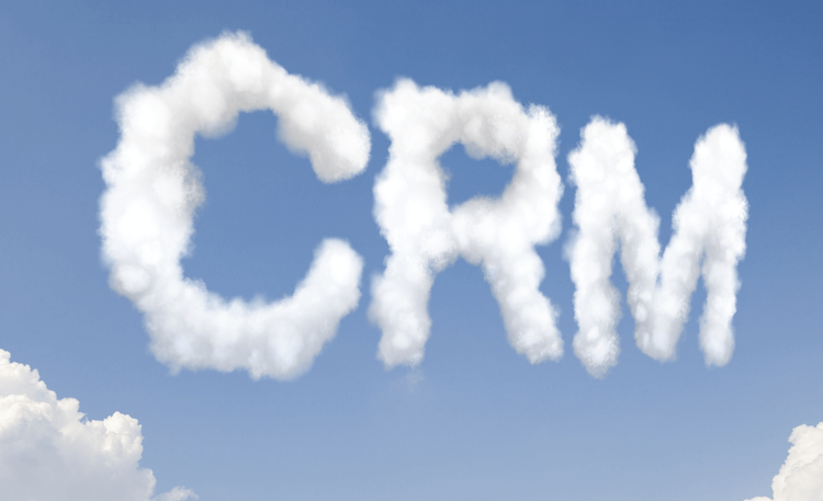 CRM, written in the clouds