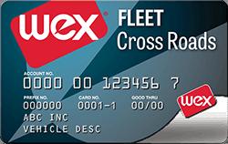 The WEX Fleet Cross Roads Card