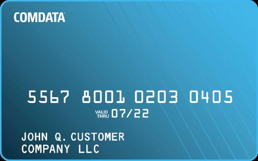 Comdata Card