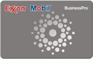 The ExxonMobil BusinessPro Card