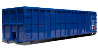 roll-off container