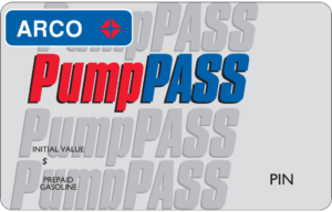 ARCO Pump Pass Fuel Card