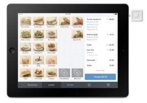Square restaurant software
