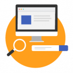 Search engine optimized icon