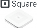 Square logo and card reader