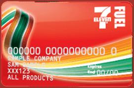 7-Eleven fuel card