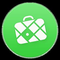 Logo de l'application GPS maps.me