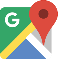 Logo de l'application GPS Google Maps