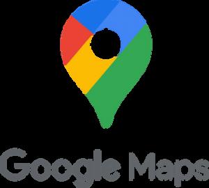Logo de l'application de géolocalisation Google Maps