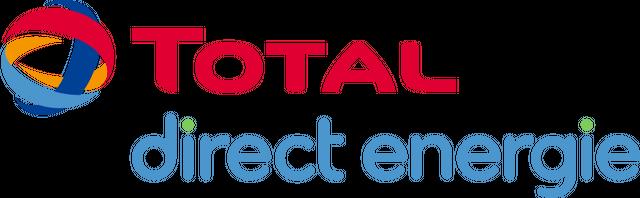 Logo du fournisseur d'électricité et de gaz Total direct energie