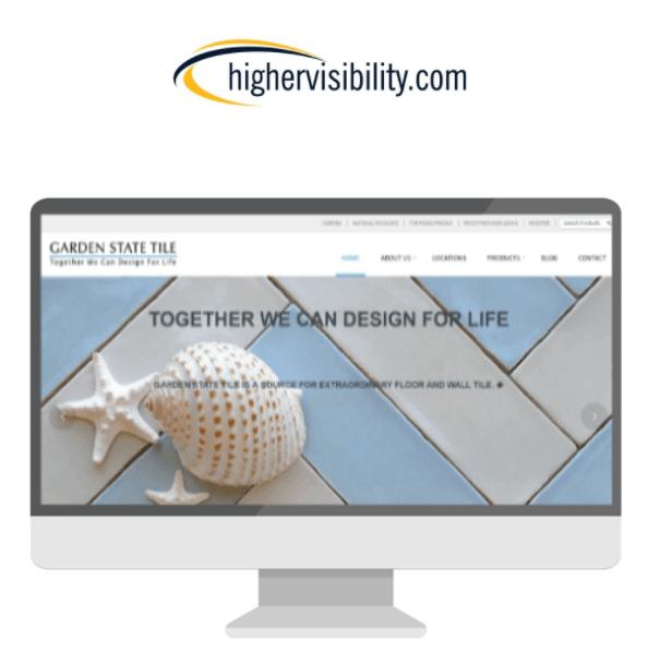 HigherVisibility logo and screenshot display