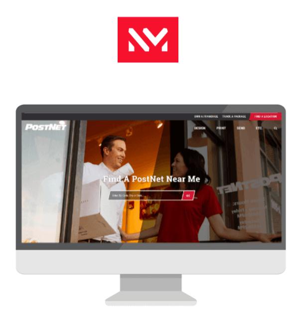 NewMedia logo and screenshot display