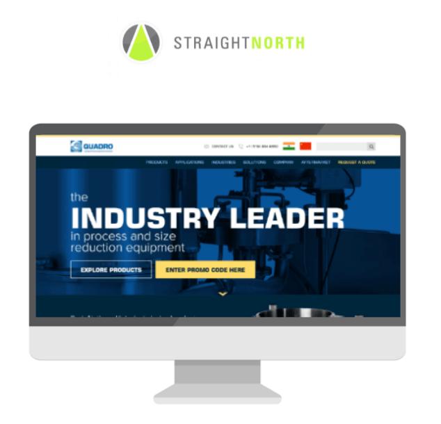 Straight North logo and screenshot display