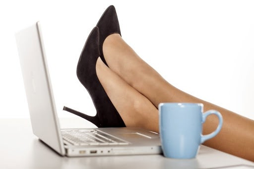 Automated marketing allows for feet up in office