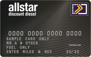allstar fuel discount diesel card