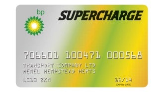 bp supercharge fuel card