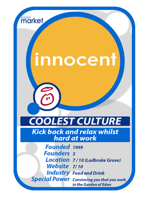 Innocent Drinks- Expert Market UK's Coolest Culture